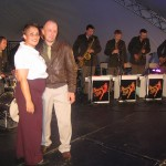 On Stage with Memphis Belle Orchestra