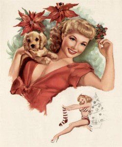 vintage-xmas-pinup-1954-with-dog-and-stocking (Medium)